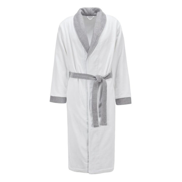different color and fabric scraf collar bathrobes obertex High quality hotel textile