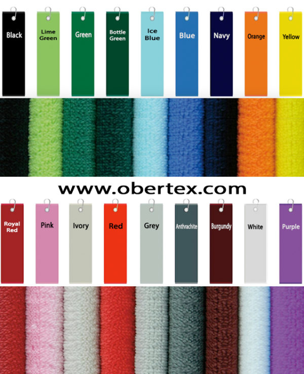 Golf Towels Color