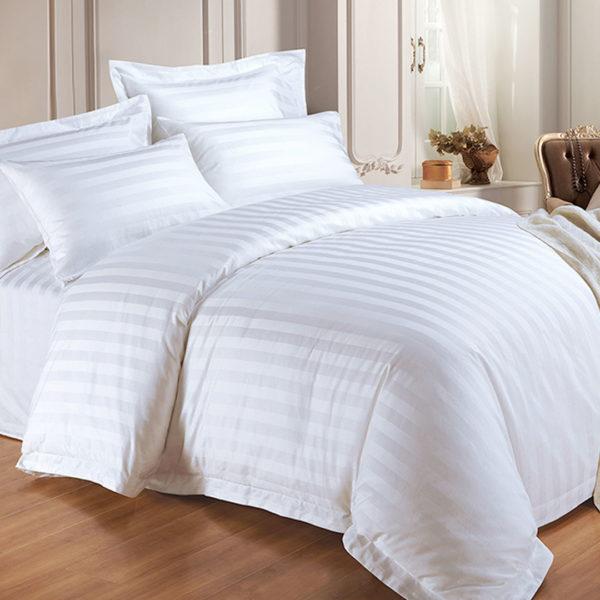 Adria Serie, White Bed Linen Adria Serie, Weiße Bettwäsche 2