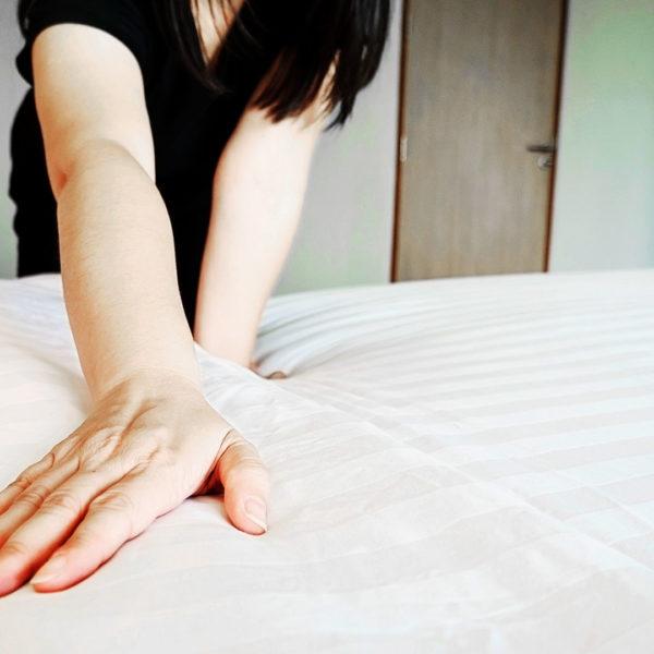 Adria Serie, White Bed Linen Adria Serie, Weiße Bettwäsche 3