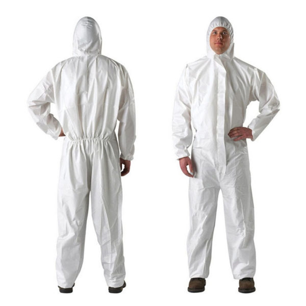 Isolation coverall suit, Isolation Coverall Anzug 2